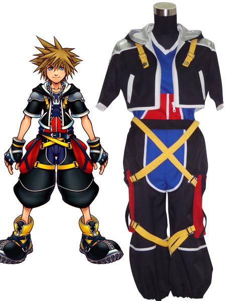 Kingdom Hearts Sora Cosplay Costume Halloween No1