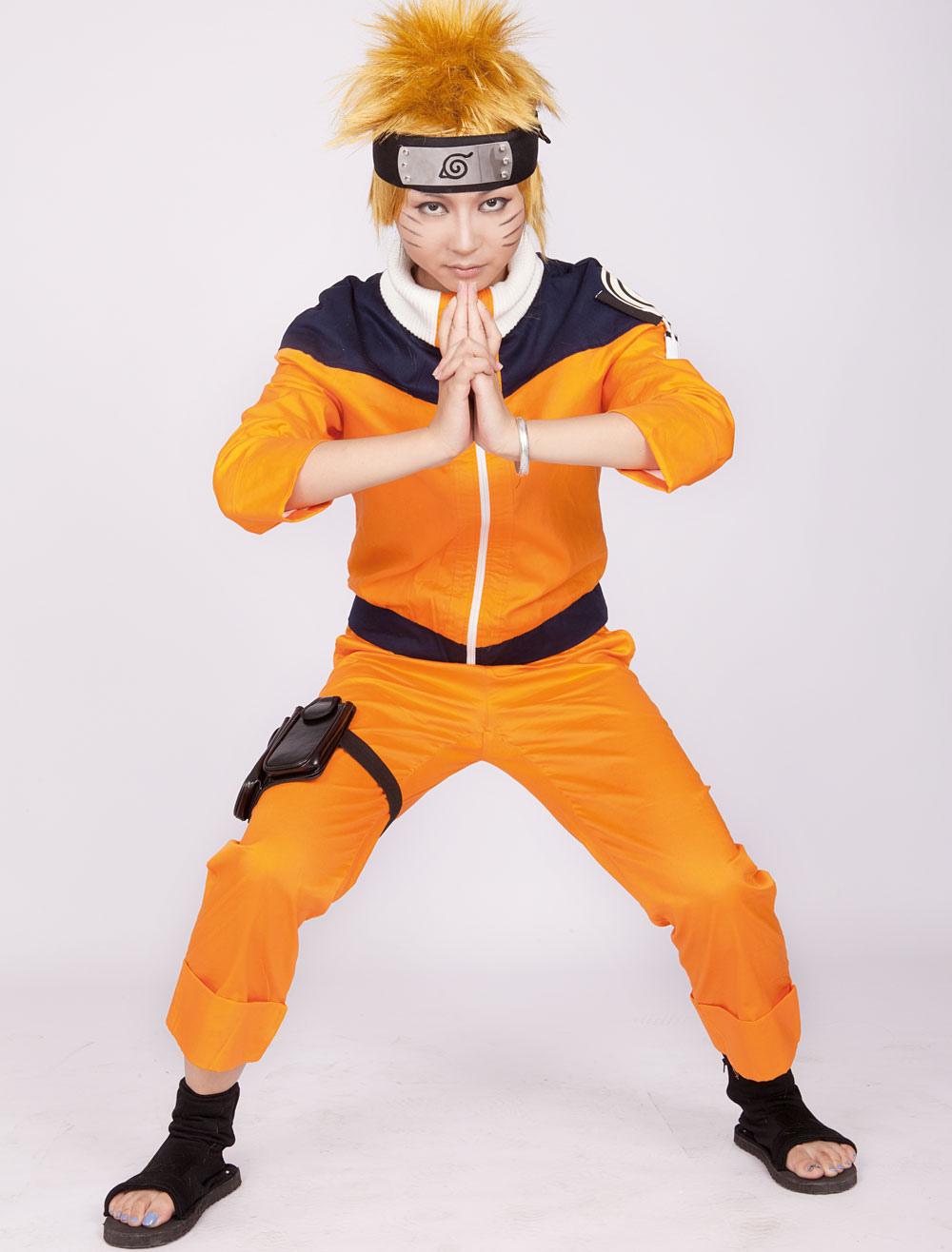Naruto Uzumaki Anime Halloween Cosplay Costume Halloween