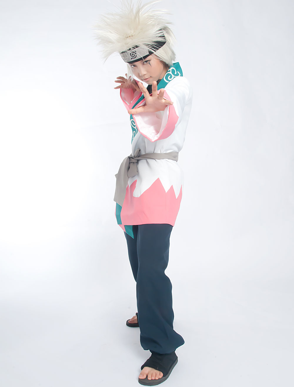 Buy Naruto Young Jiraiya Cosplay Costume Halloween for $92.91 in Milanoo store