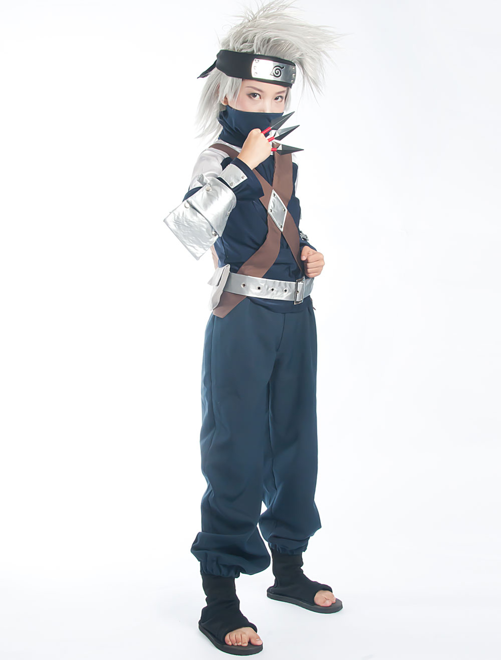 Naruto Hatake Kakashi Halloween Cosplay Costume Halloween