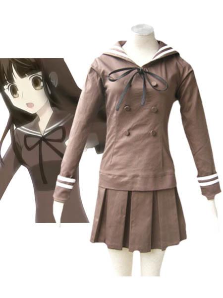 Ouran High School Host Club Fujioka Haruhi Cosplay Costume Seifuku School Uniform Halloween