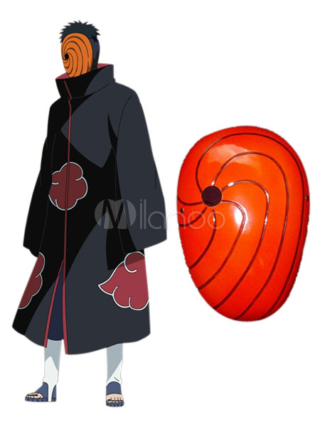 Wonderful Naruto Uchiha Madara PVC Cosplay Mask Halloween
