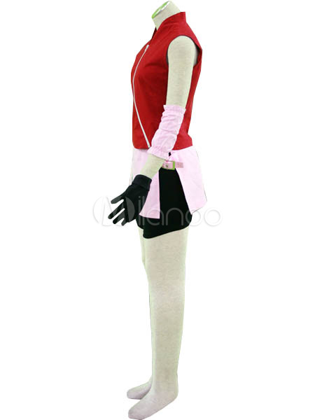 Naruto Shippuden Haruno Sakura Cosplay Costume Halloween ...