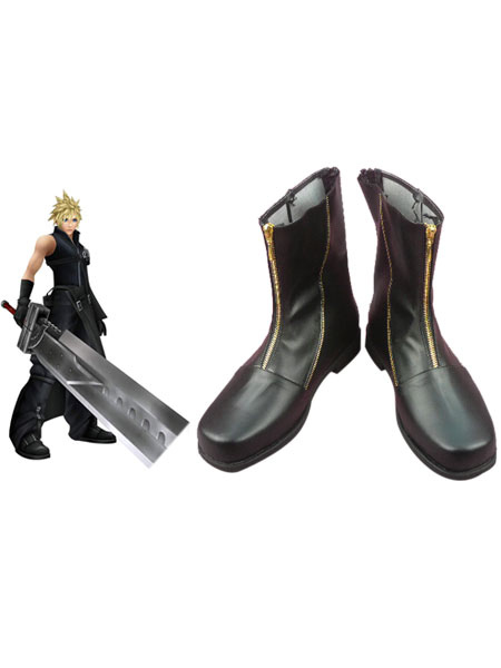 Special Final Fantasy VII Cloud Strife Cosplay Boots Halloween
