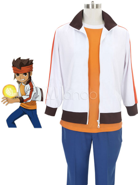 Inazuma Eleven Endou Mamoru Cosplay Costume Halloween