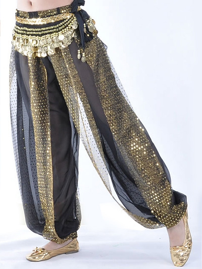 Belly Dance Costume Pants Wide Leg Rayon Chic Bollywood Dance Pants