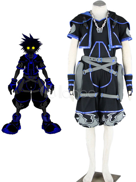 Kingdom Hearts Anti Sora Cosplay Costume Halloween Milanoo Com