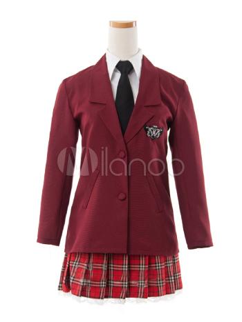 Axis Powers Hetalia School Uniform Cosplay Costume Halloween