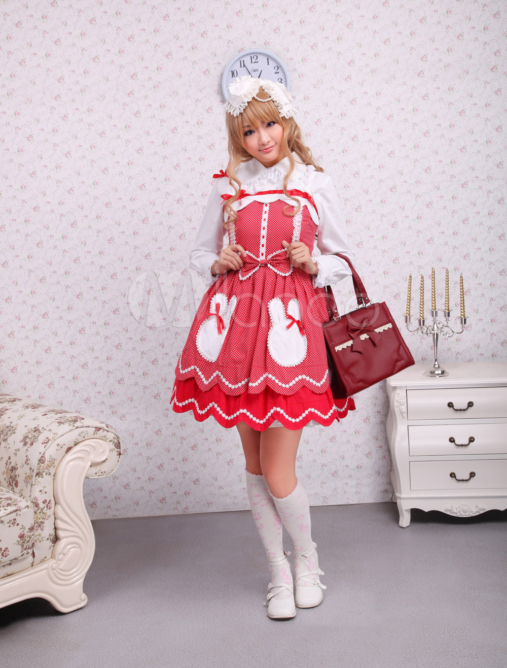 Cotton Bow Sweet Lolita Dress