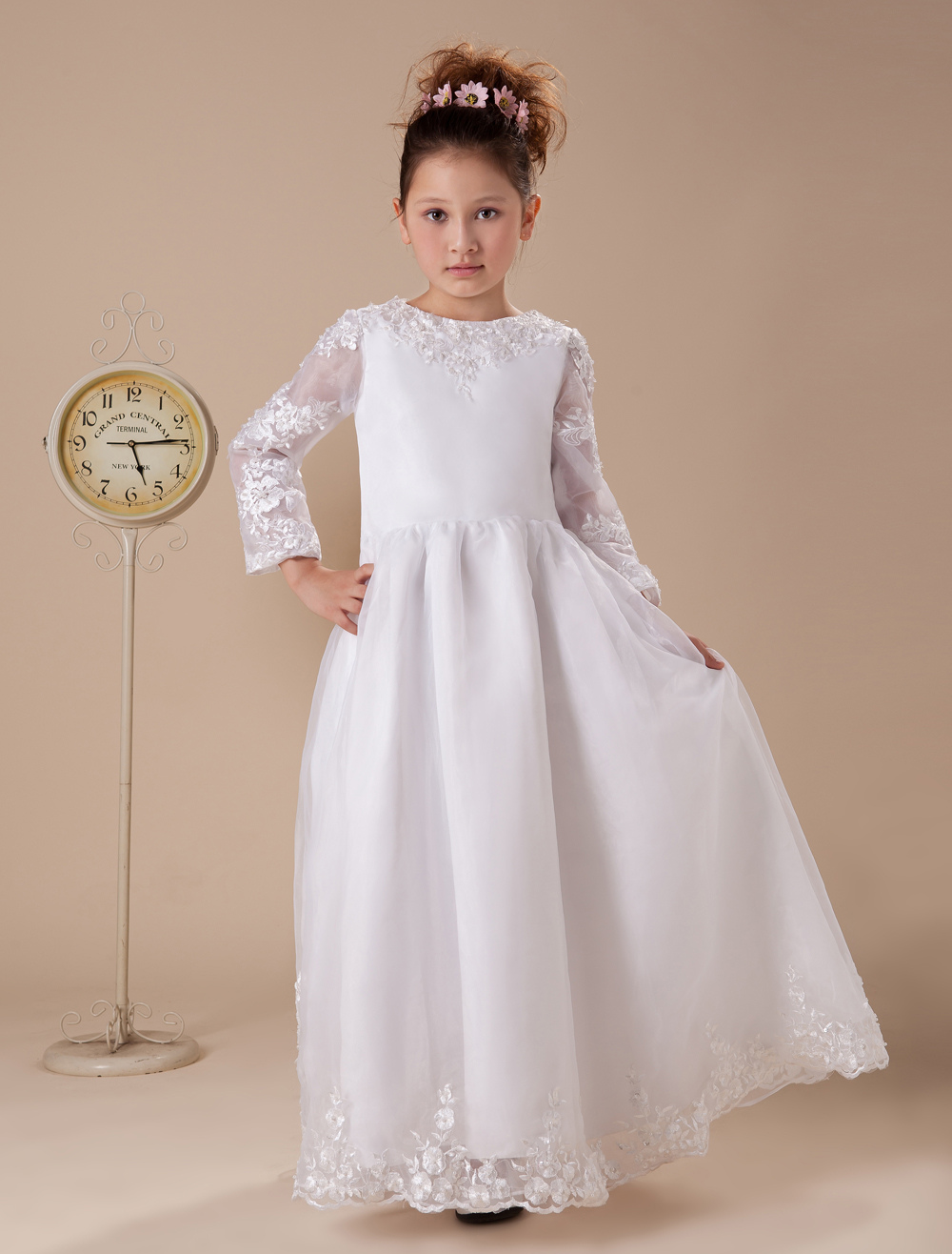 Shop girls long sleeve dresses cheap sale online, you can buy long sleeve flower girl dresses, printed long sleeve dresses for girls and more at wholesale prices on forex-2016.ga FREE shipping available worldwide.