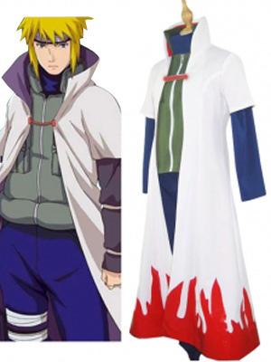 Naruto Namikaze Minato Halloween Cosplay Costume  Halloween