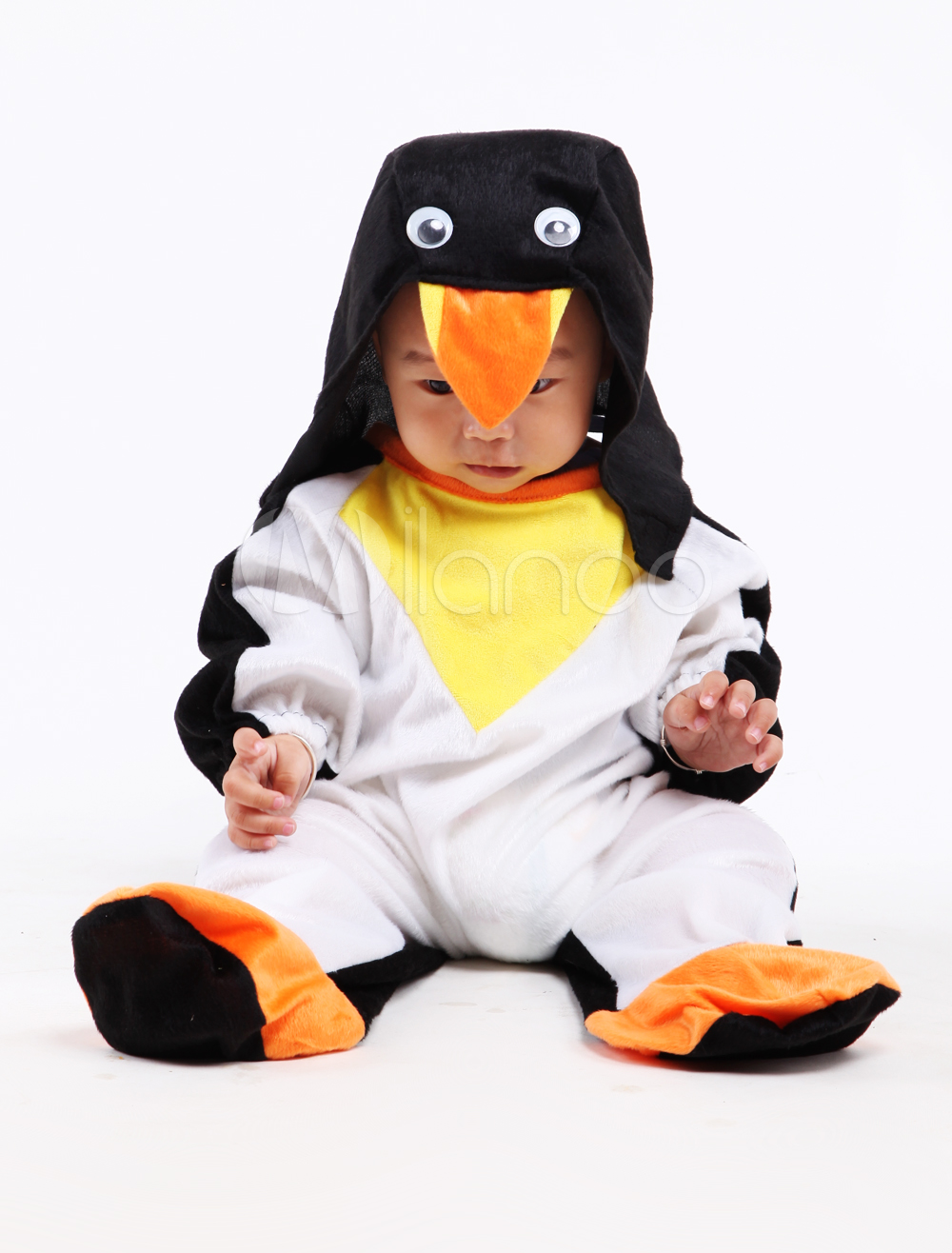 Black White Penguin Baby Halloween Costumes Halloween