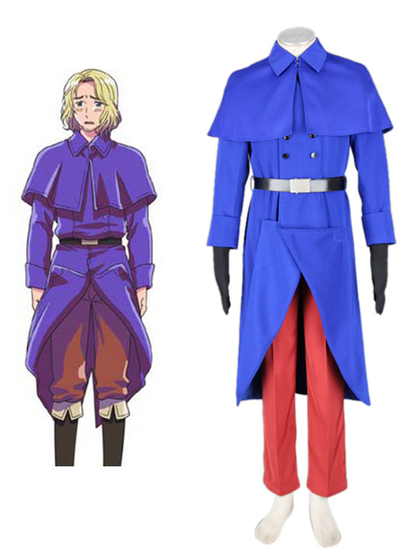 Axis Powers Hetalia France Halloween Cosplay Costume Halloween
