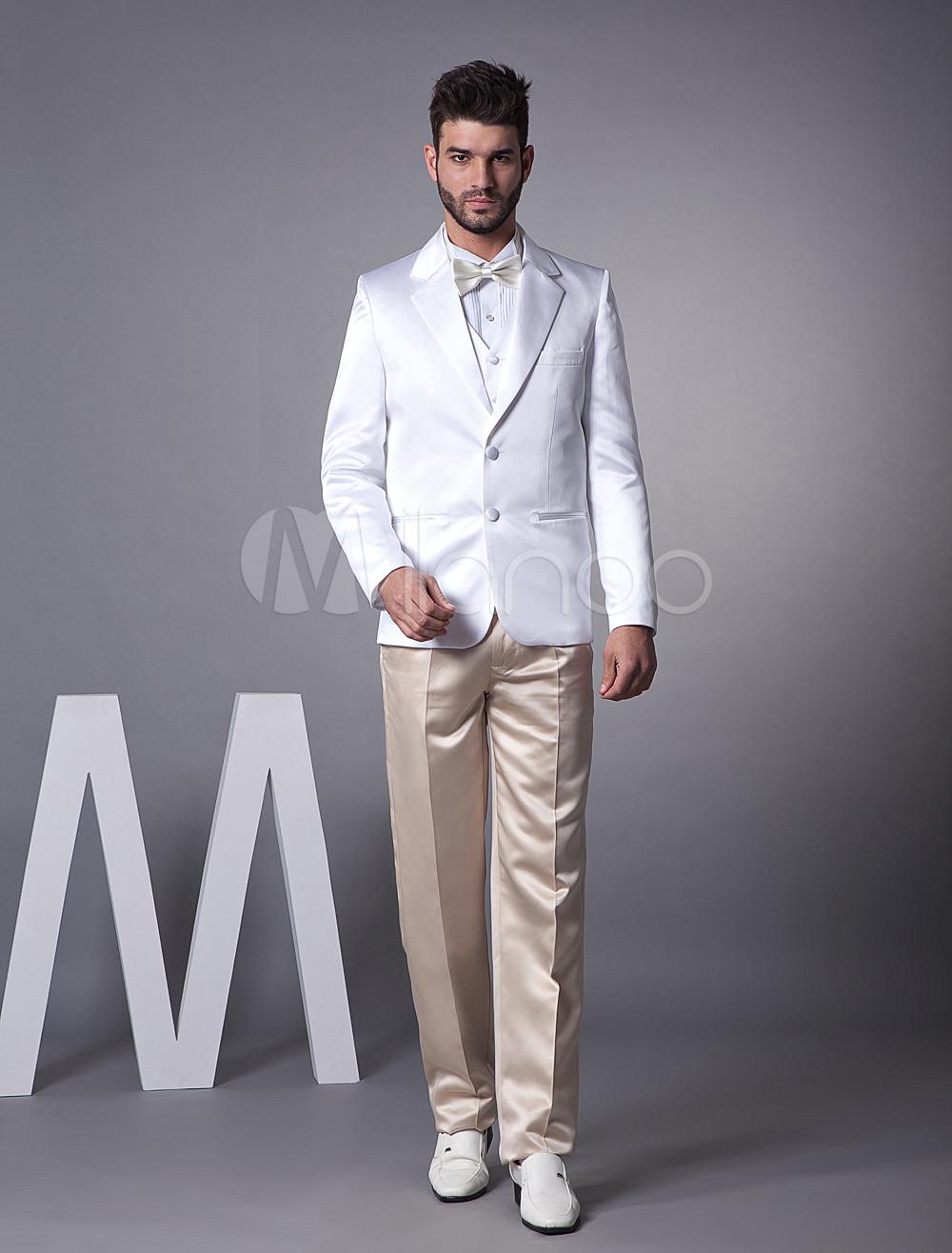 7ffa0d5c616c2 ... 新郎スーツ,タキシード ホワイト オーダーメイド可能 セット 結婚式スーツ ゥェディング パーティー -No. 12. 色  AddThis  Sharing Buttons