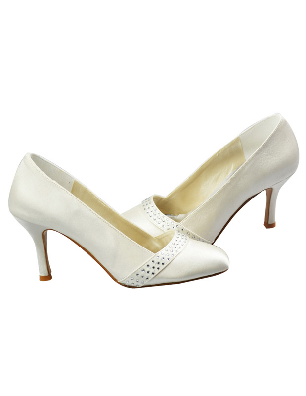 Complete your wedding day ensemble with the perfect bridal shoes from Sinful Shoes. Our selection of wedding heels includes styles you won't find in other bridal collections. We offer gorgeous and glamorous styles that are just as beautiful as your dress for the big day.