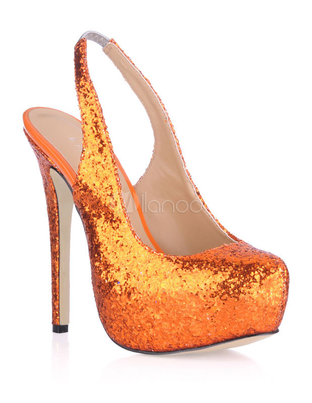Free shipping BOTH ways on Shoes, Orange, Women, Glitter, from our vast selection of styles. Fast delivery, and 24/7/ real-person service with a smile. Click or call