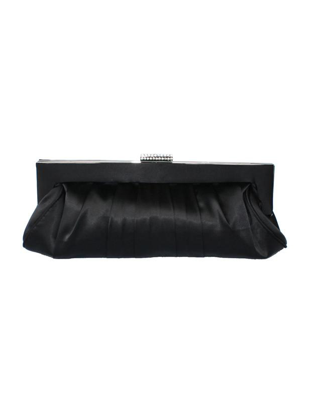 Buy Satchel Shape Quilted Pleated Silk Woman's Evening Bag for $17.99 in Milanoo store