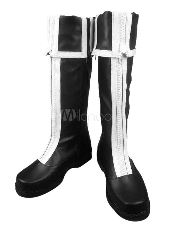 D Gray Man Allen Walker Cosplay Boots Halloween