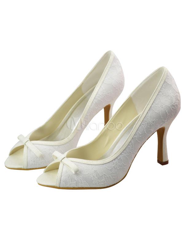 white lace heels wedding www pixshark images