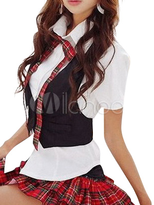 Buy Japanese School Uniform Cosplay Costume Halloween for $52.43 in Milanoo store