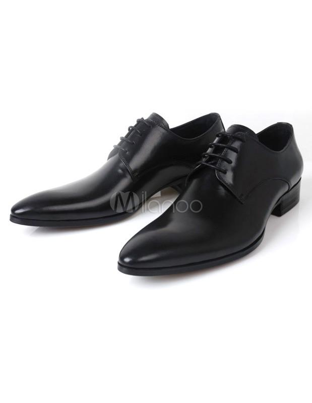 Calfskin Mens Dress Shoes