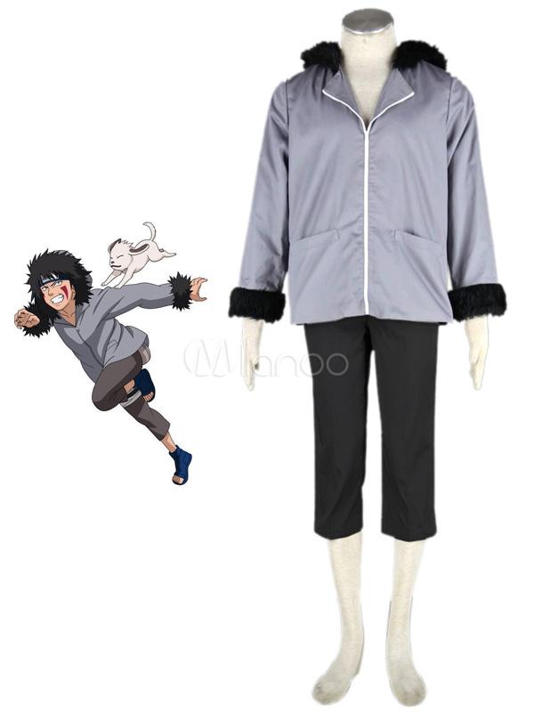 Naruto Kiba Inuzuka Cosplay Costume Halloween