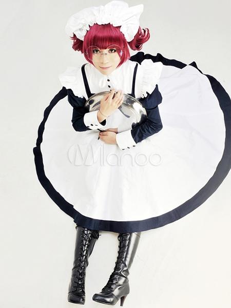 Black Butler Kuroshitsuji Maylene Halloween Cosplay Costume  Halloween