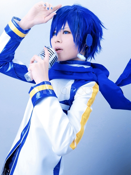 VOCALOID Kaito Cosplay Costume Halloween