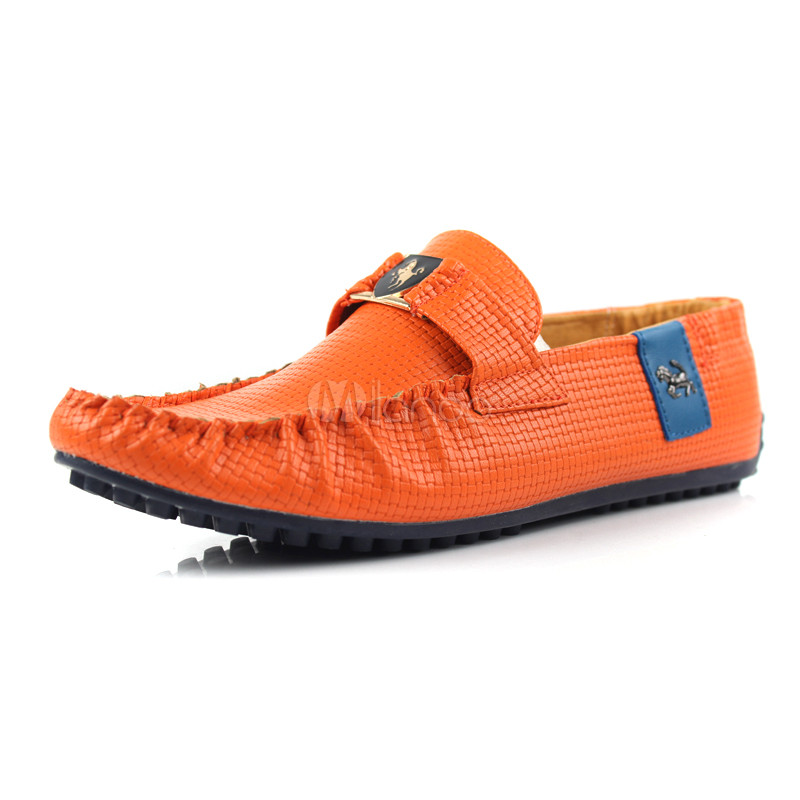 Casual White PU Leather Menu0026#39;s Loafer Shoes - Milanoo.com