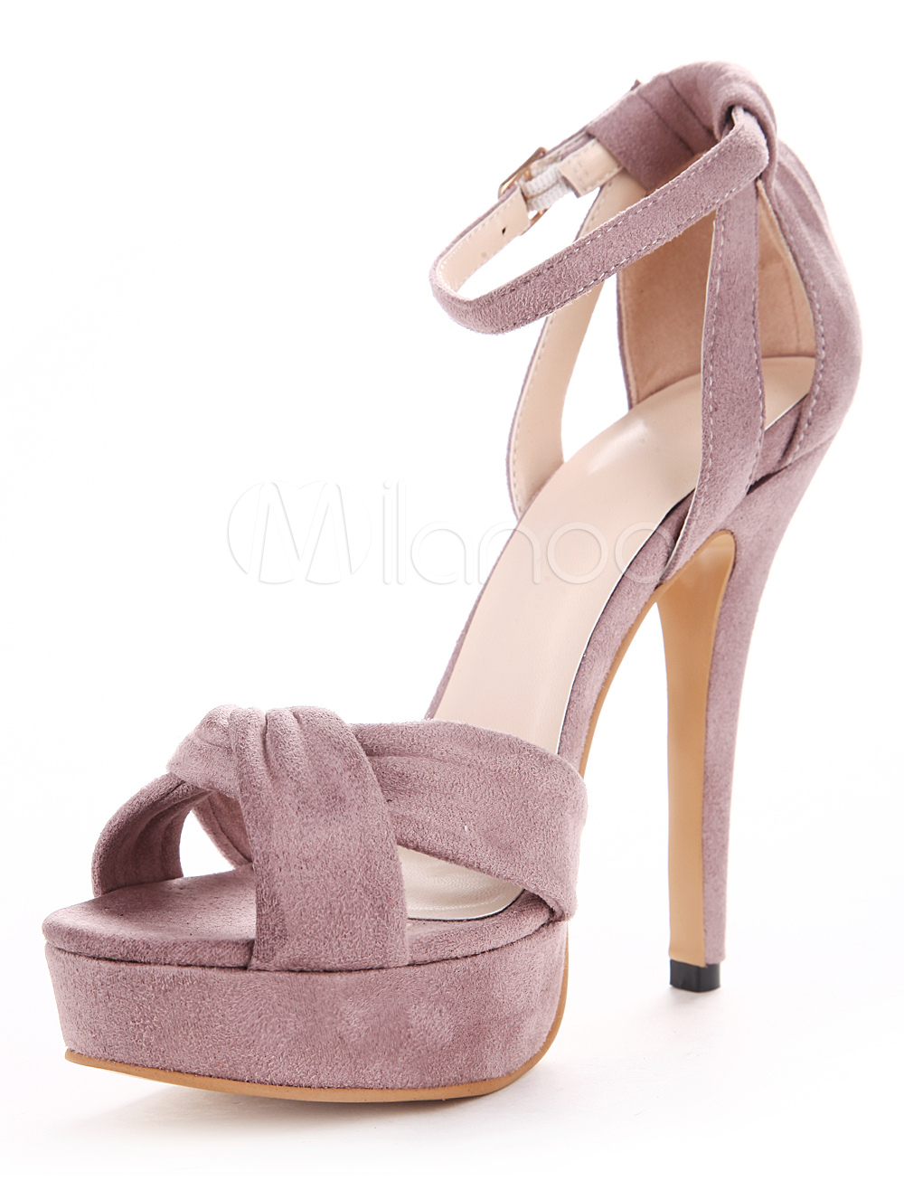 Pretty Pointed Toe Micro Suede Upper Women's Pointy Toe Heels