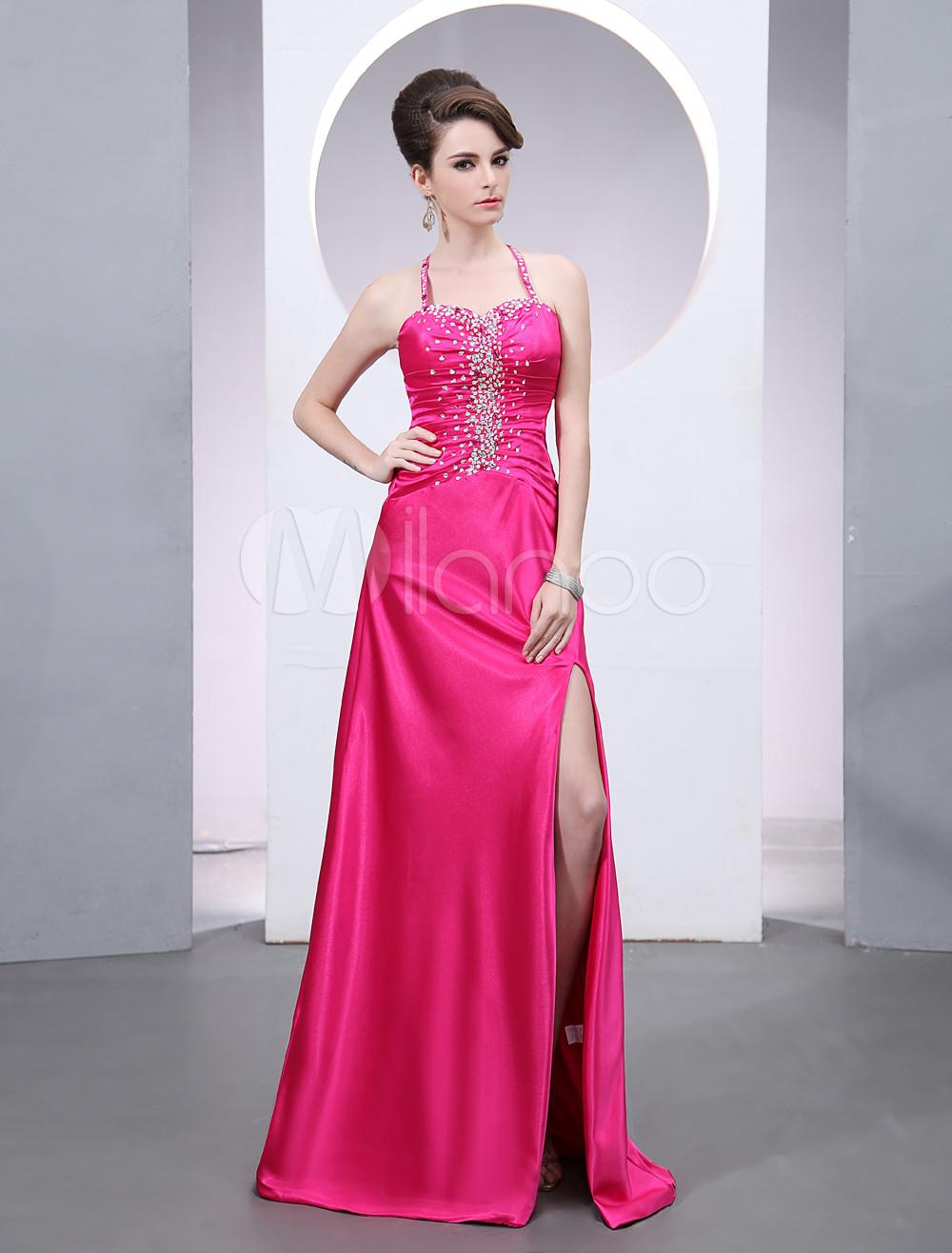 Vestido Rojo Elegante - Productos de vida inteligente Moda Mujer ...
