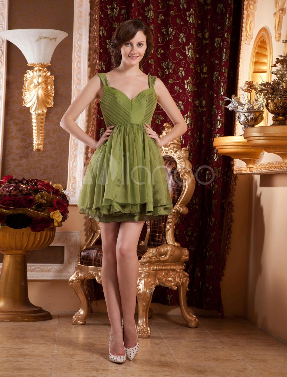 8bb3ffe64 Vestido de Gossip Girl de tafetán plisado con tirantes de estilo moderno -  Milanoo.com