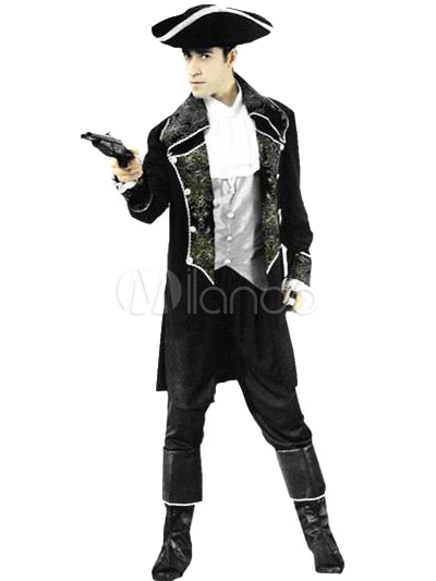 Buy High Quality Silver Polyester Pirate Halloween Costumes Halloween for $44.15 in Milanoo store