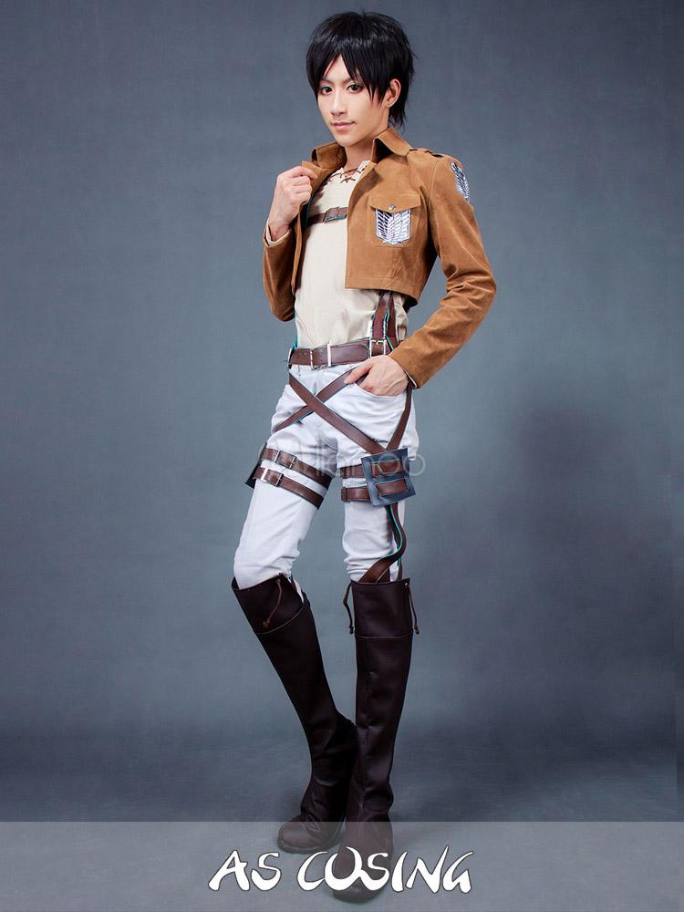 Attack on Titan Eren Jaeger Cosplay Costume - Milanoo.com