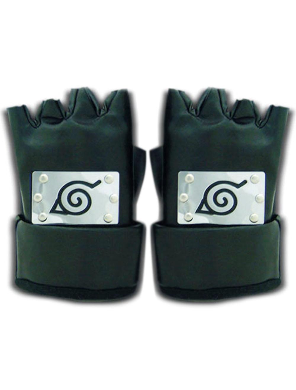Naruto Ninja Leaf Village Gloves Halloween