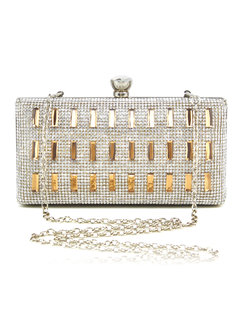 Glamour Glitter Rhinestone Evening Bag for Woman