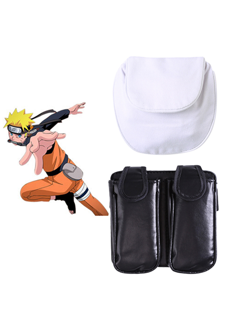 Naruto Kunai Holster Bag Halloween Cosplay Prop