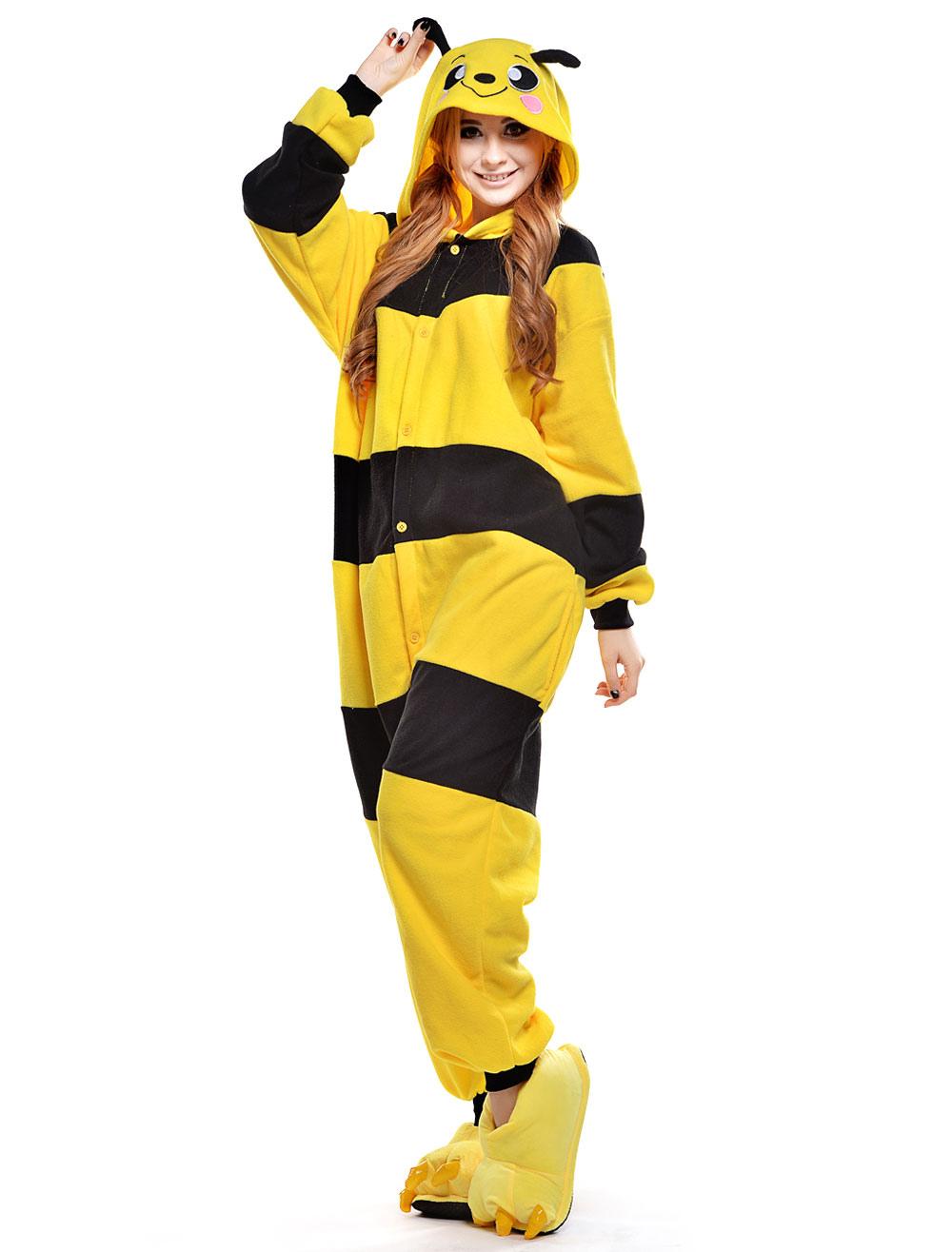 Kigurumi para disfraz de abeja Halloween Milanoocom