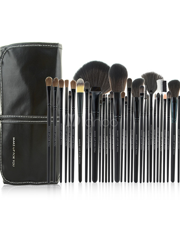 32 Pieces Professional Make Up Brushes Set Cheap clothes, free shipping worldwide