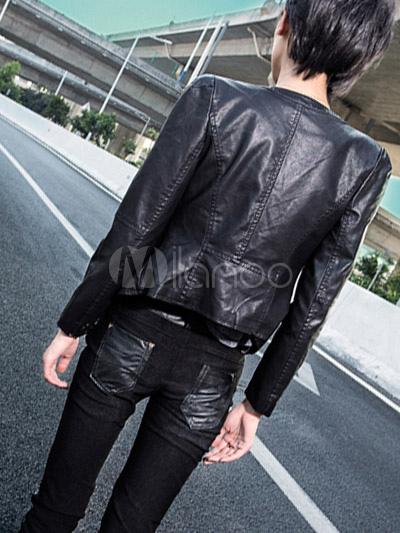 Veste moto femme chic