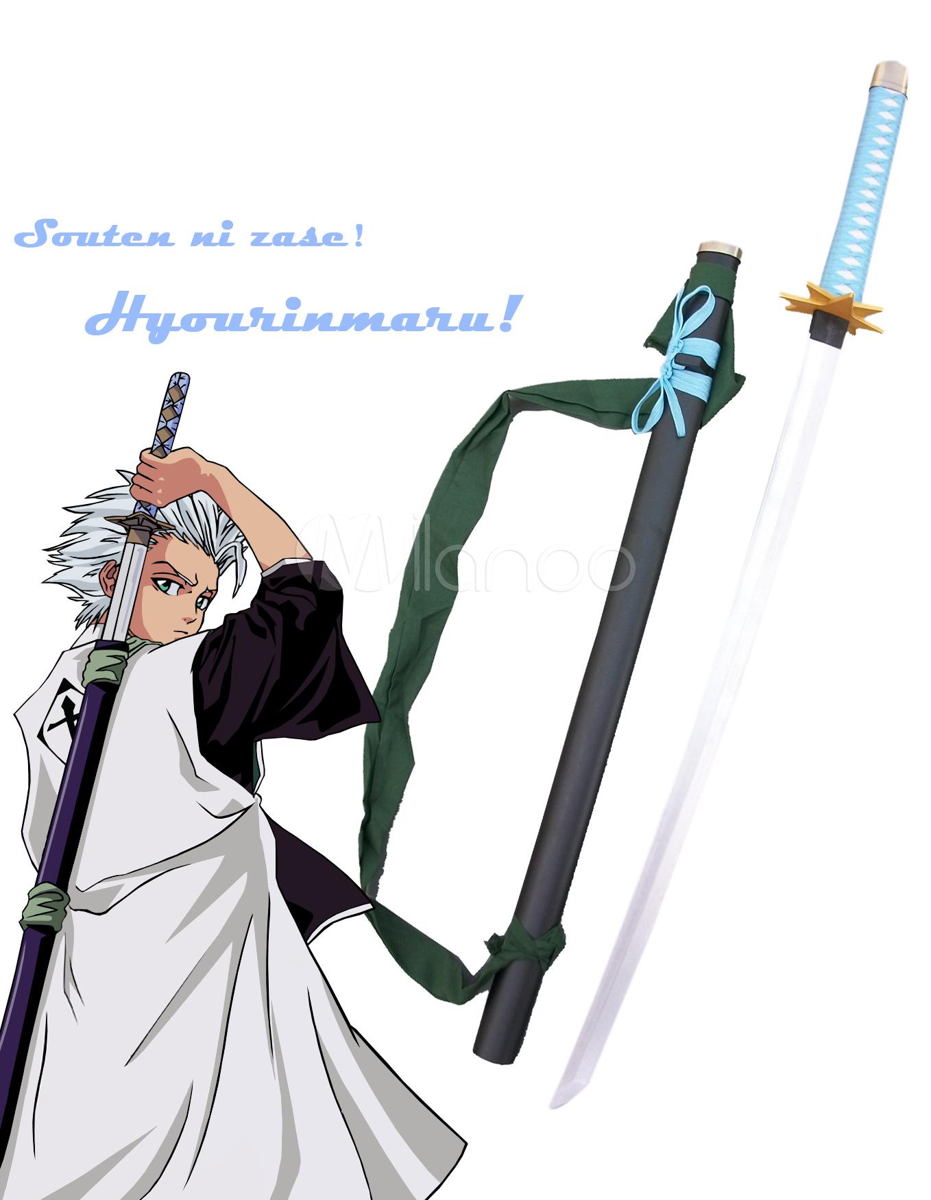 Bleach Hitsugaya Toushirou Zanpakutou Hyourinmaru Cosplay Weapon Halloween