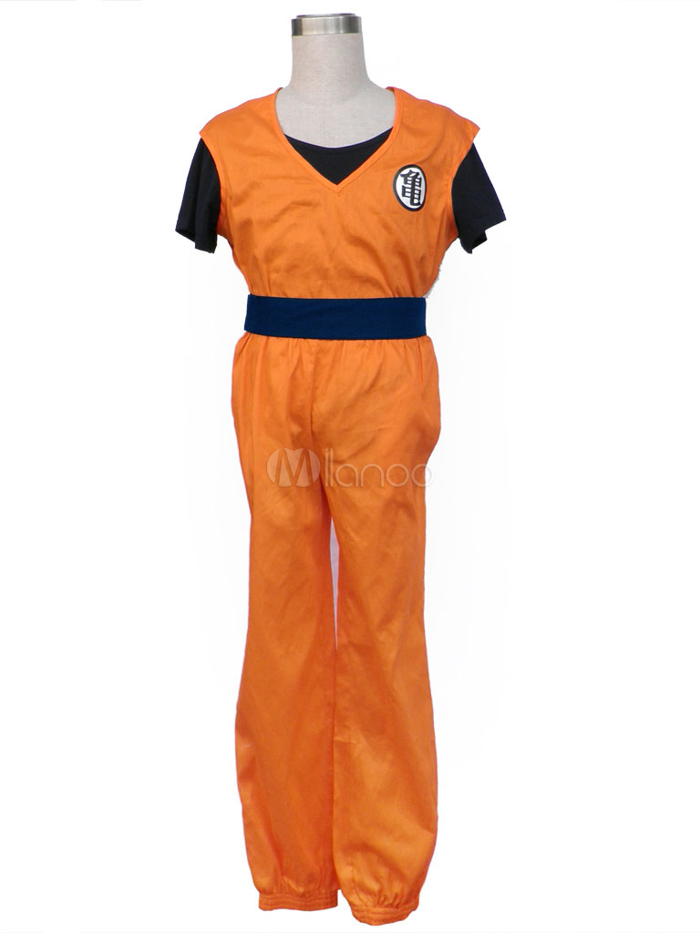 Dragon Ball Son Goku Halloween Cosplay Costume Kakarotto Cosplay Halloween- No.1 ... 683e5d182bb1