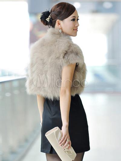 Fur Vest with Sleeves