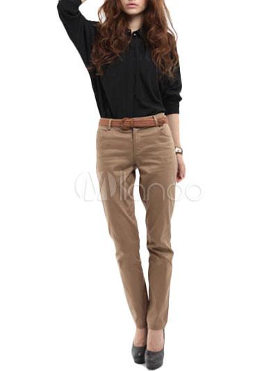 Pantaloni Cotone Urbani In Pantaloni In Marroni Pantaloni Urbani Marroni Cotone zw4dqFxU6