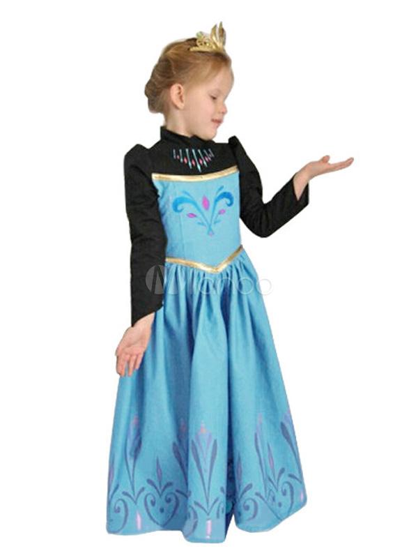 Blue Disney Frozen Dress No 2