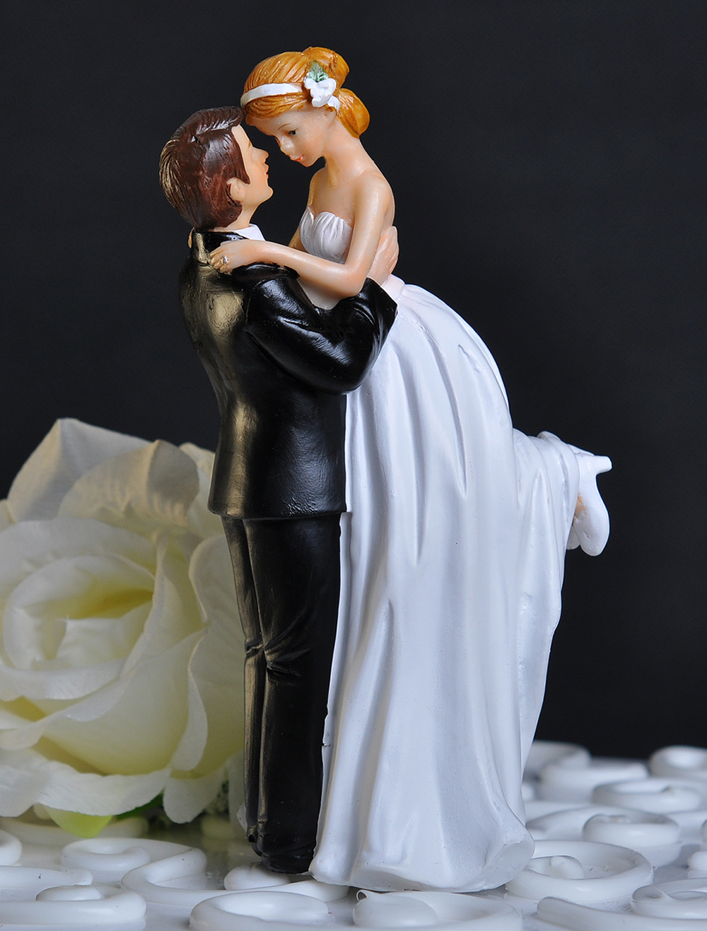 wedding cake couple classique romantique figurine wedding cake topper 22260