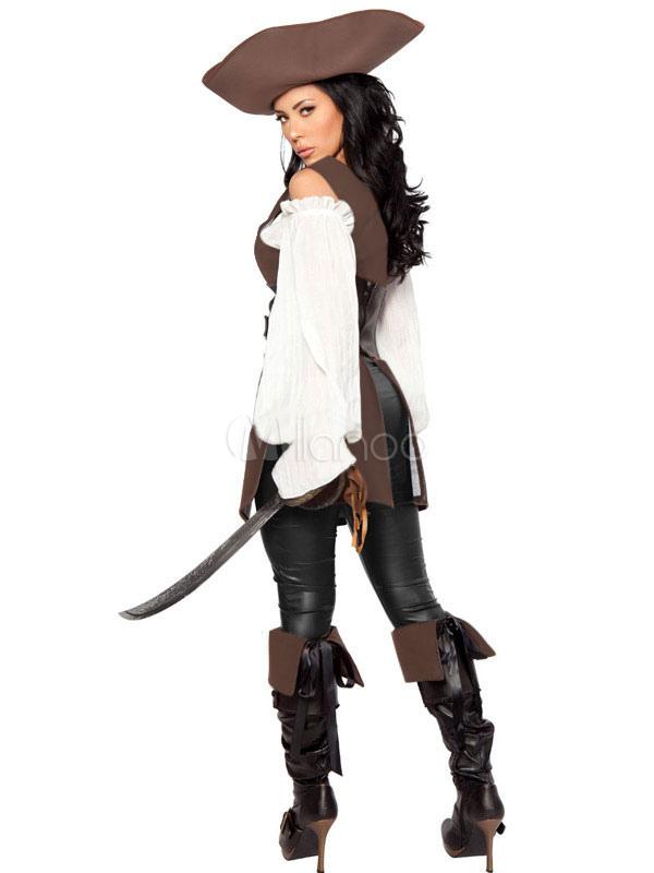 Costume da pirata dei Caraibi di Carnevale donna Carnevale - Milanoo.com afe45d406e2