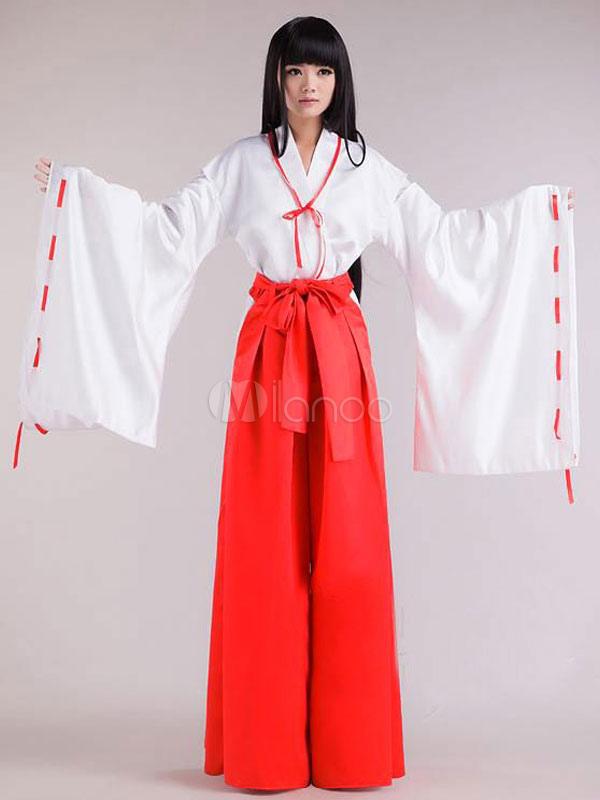 InuYasha Kikyo Halloween Cosplay Costume Halloween