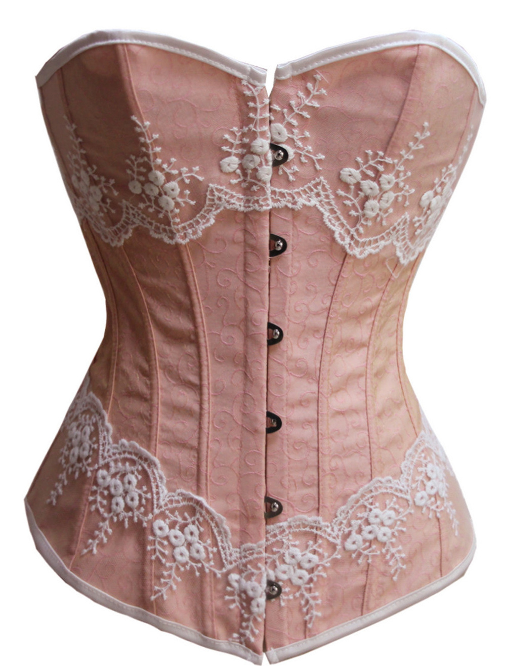 dbc8379996 Victorian Boned Corsets With Lace Trim - Milanoo.com