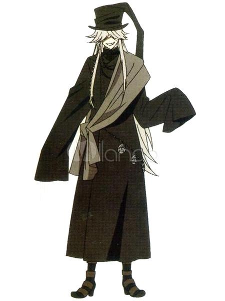 Black Butler KuroShitsuji Undertaker Halloween Cosplay Shoes No2